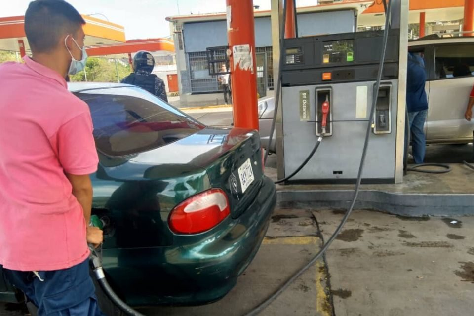 Gasolina colas