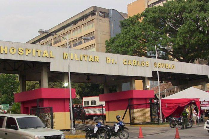 Delincuentes roban insumos médicos del Hospital Militar de Caracas