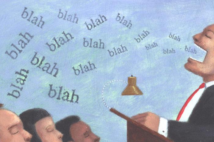 La política de los discursos pantalleros