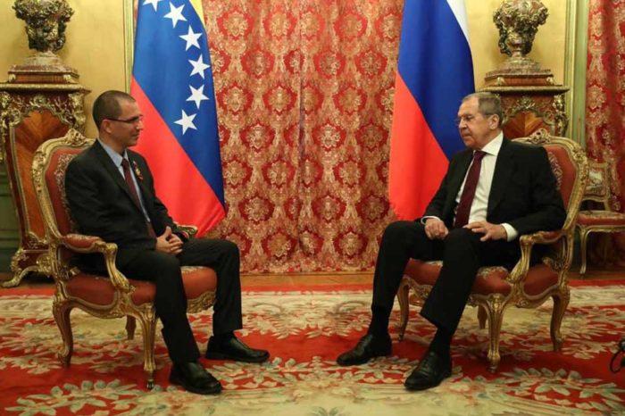 Lavrov y Arreaza