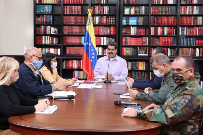 Maduro anuncia 61 nuevos casos y reitera que el #8Jun inicia semana de cuarentena