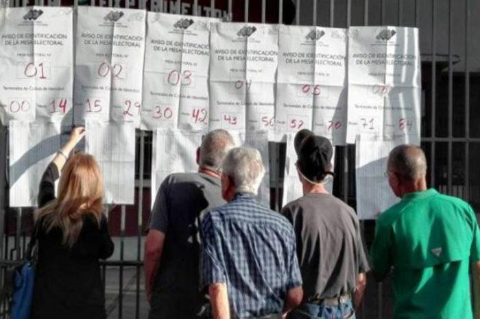200 centros de votación fueron reubicados por el CNE para las parlamentarias