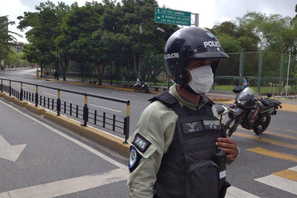 PoliSucre alcabalas Caracas