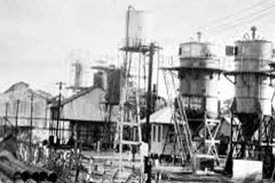 Primera refinería de San Lorenzo