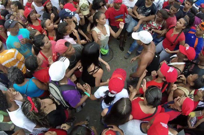 Maduro pide repique de tambores y Naiguatá se los vuelve a dar