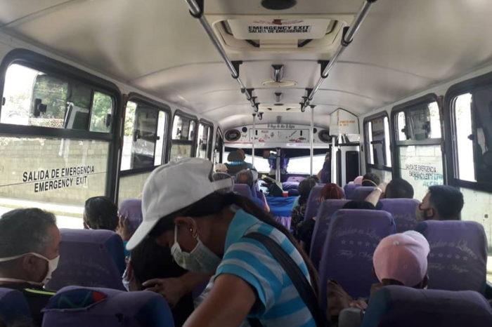 Transportistas extraurbano cuarentena