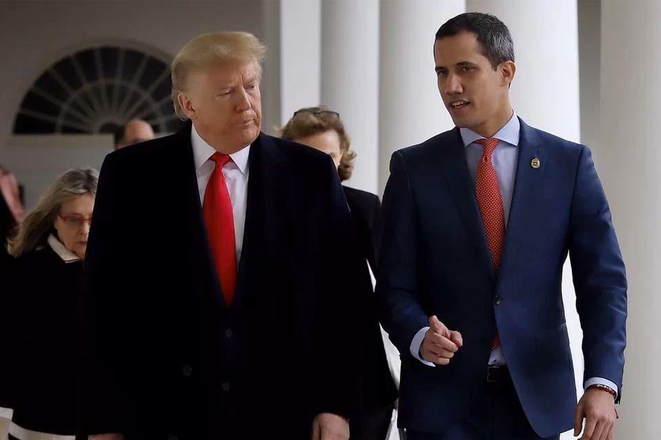 Trump Guaido convenio EEUU