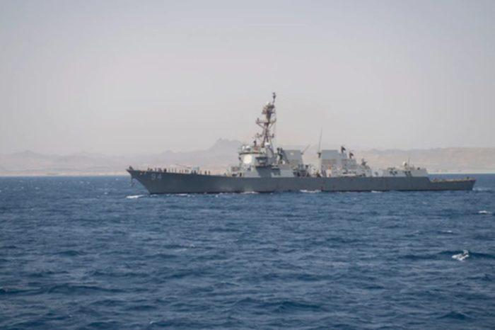 USS Nietze EEUU barco