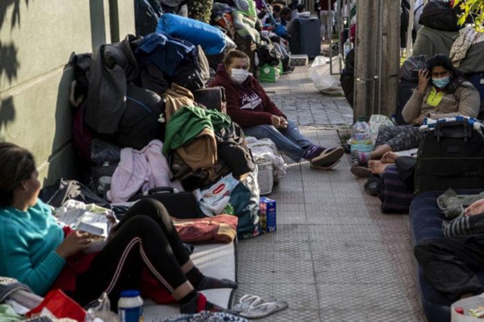 Hogares venezolanos en Colombia