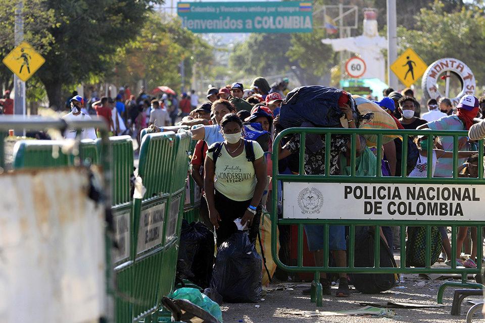 pandemia - frontera