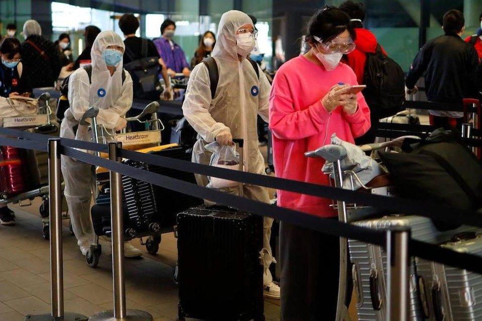 China exige pruebas de coronavirus a viajeros internacionales