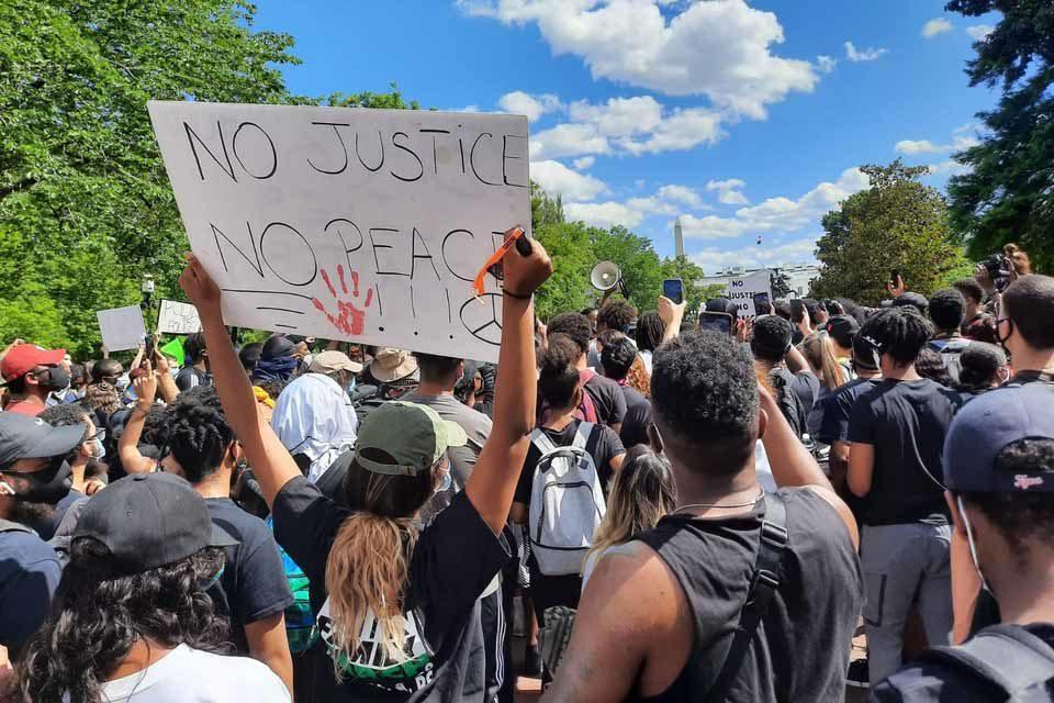 washington protestas