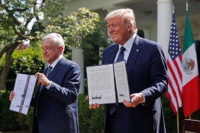 México y EEUU firman tratado comercial sin tomar en cuenta el tema migratorio