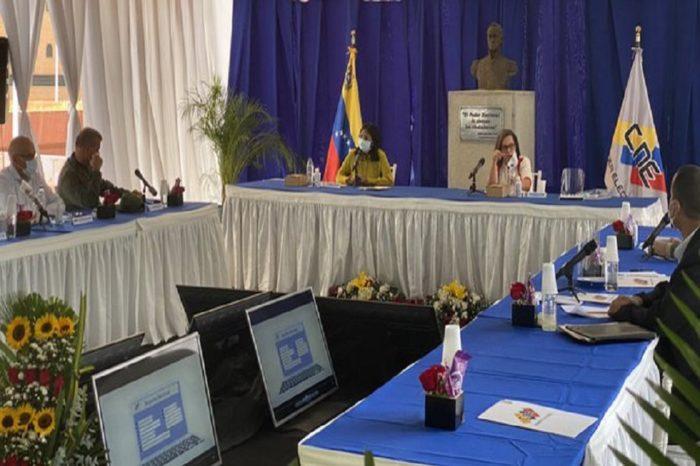 CNE dio inicio a jornadas del RE en Venezuela en plena cuarentena