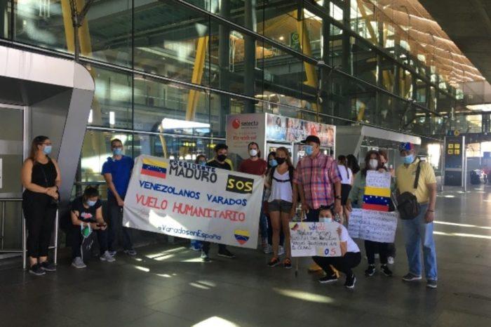 Venezolanos varados en España siguen clamando por ayuda para regresar