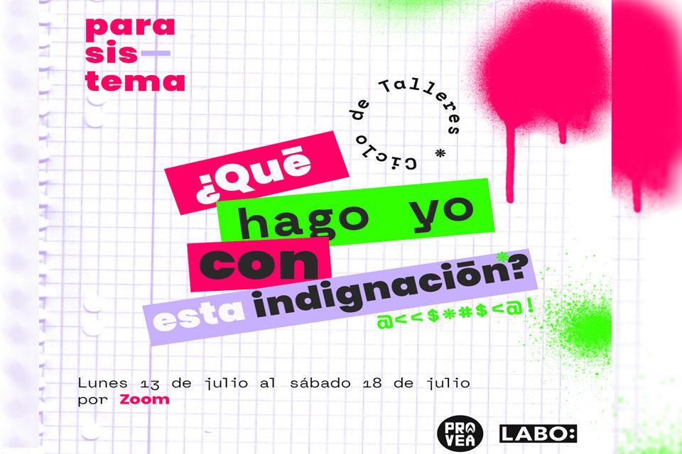 Provea y Labo Ciudadano dictarán talleres online de expresión creativa