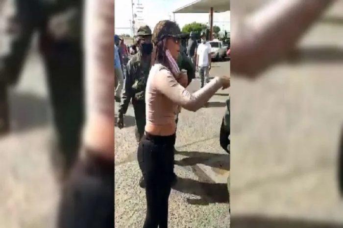 """Detienen a mujer que insultó a militares alegando ser """"sobrina de Peralta"""""""