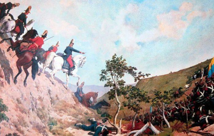 La independencia contra 1500 españoles en 1810