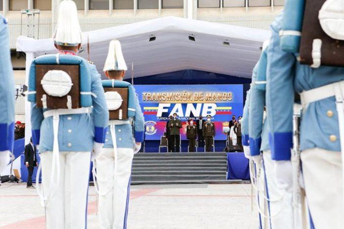 Maduro designó a las tres nuevas cabezas de componentes de la FAN