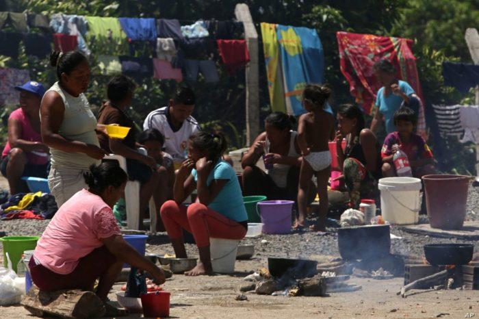 Roraima Brasil venezolanos refugiados