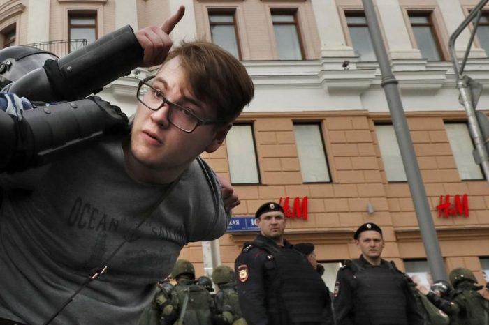Protestaron contra reformas que permiten a Putin perpetuarse en el poder