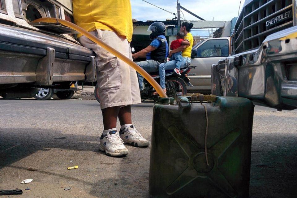 Contrabando gasolina