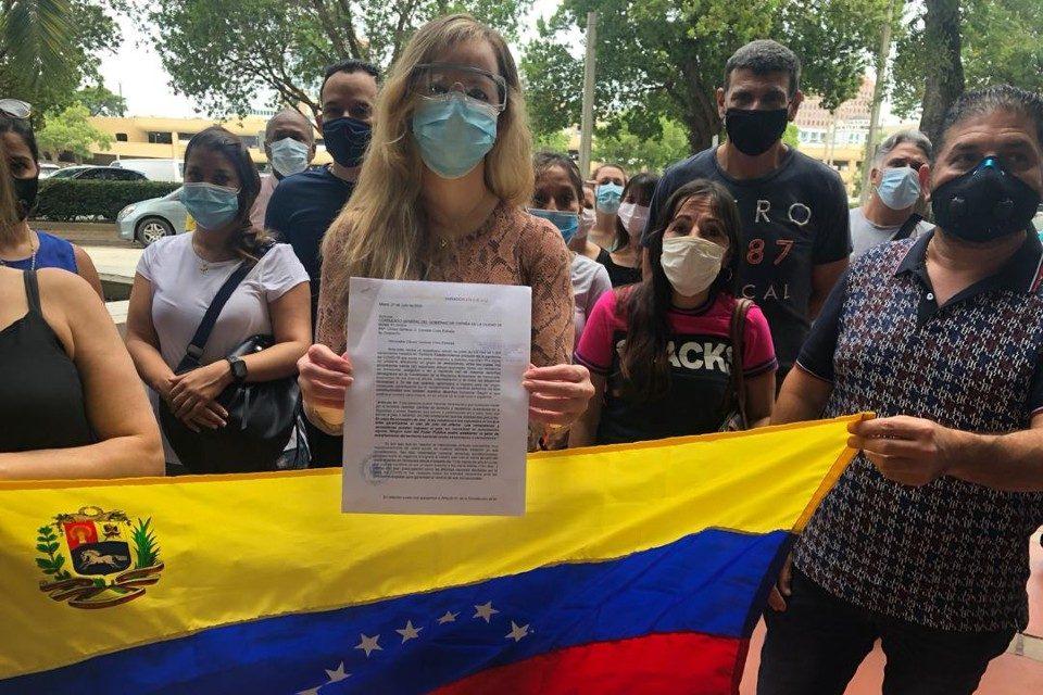 venezolanos Miami Venezuela varados