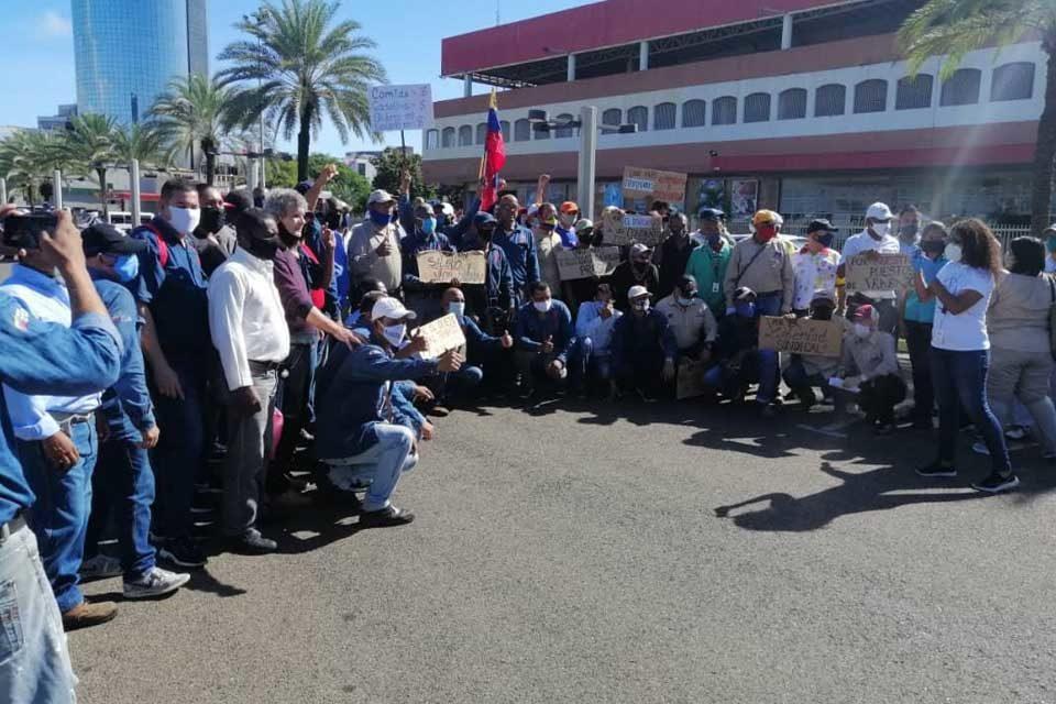 Trabajadores Guayana contrato colectivo