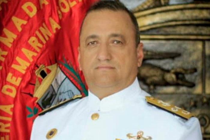 Falleció vicealmirante que dirigía apoyo marítimo de la Armada