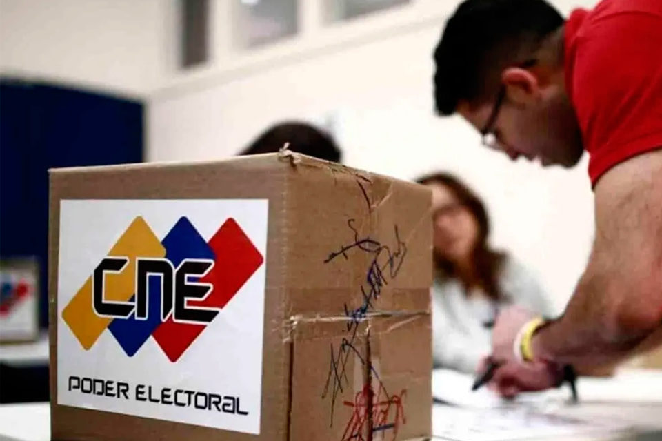 CNE cronograma electoral
