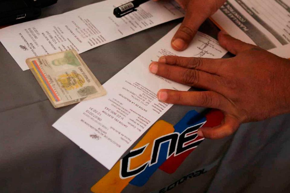 CNE - centro de votación
