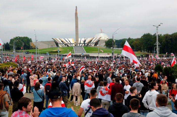 protestas Biolorrusia