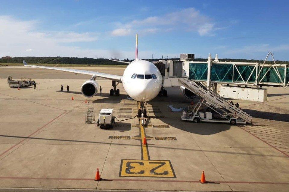Avión España Maiquetía repatriación líneas aéreas Venezuela