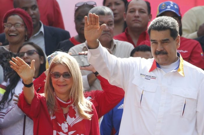 Cilia Flores Nicolás Maduro