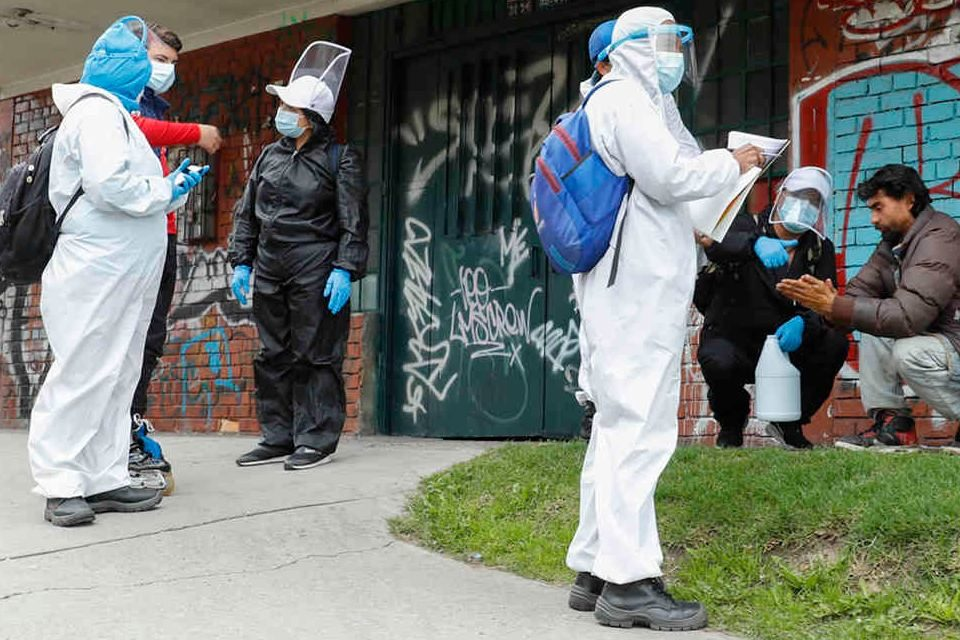 Zonas de la capital de Colombia a cuarentena ante ola de coronavirus