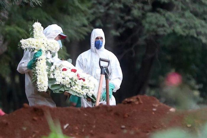 Brasil se acerca a los 120 mil fallecidos por coronavirus