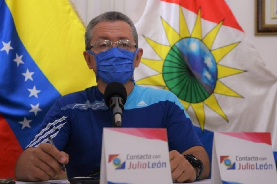 Julio León Heredia | gobernador de Yaracuy