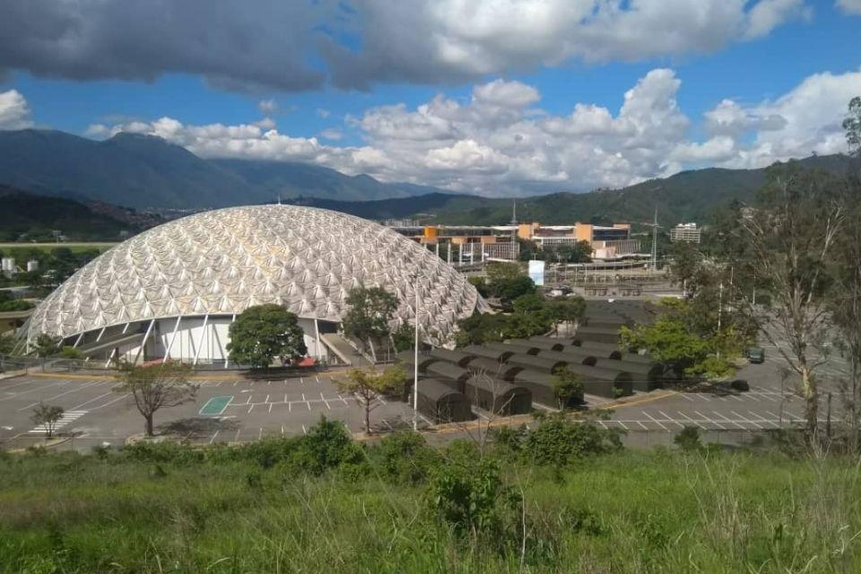 Poliedro de Caracas - Hospital de campaña