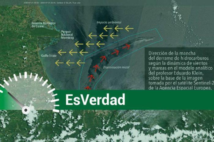 EsPaja   ¿El derrame de crudo que afectó Morrocoy se originó en la refinería El Palito?