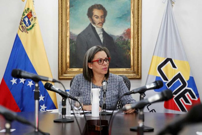 Indira Alfonzo CNE elecciones campaña electoral