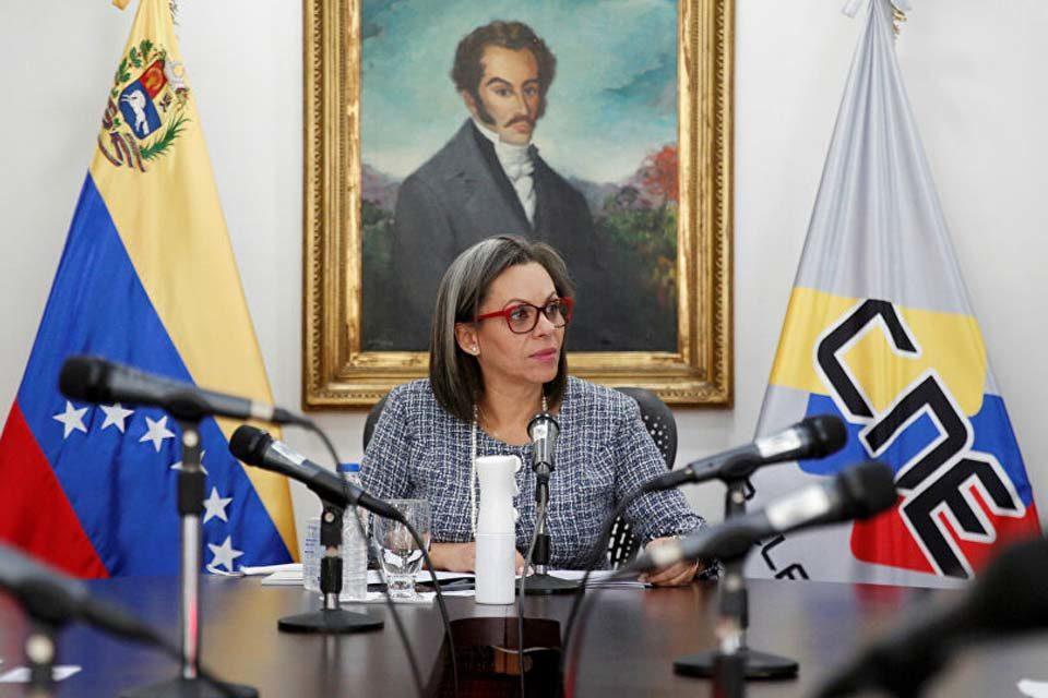 Indira Alfonzo CNE elecciones