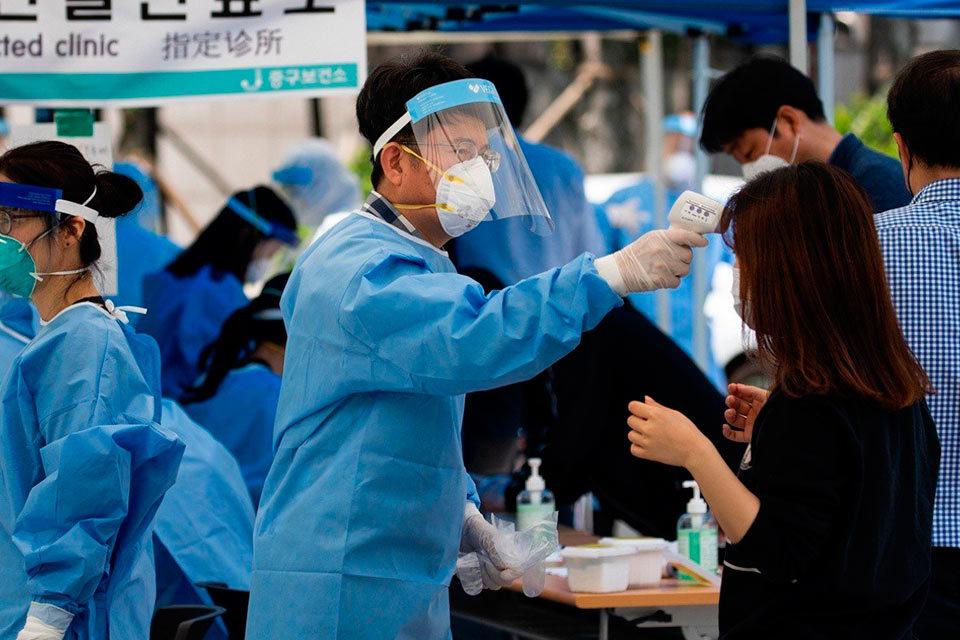 Corea del Sur en el control de la pandemia