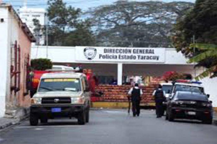 100 reclusos se fugaron de la comandancia de la policía en Yaracuy