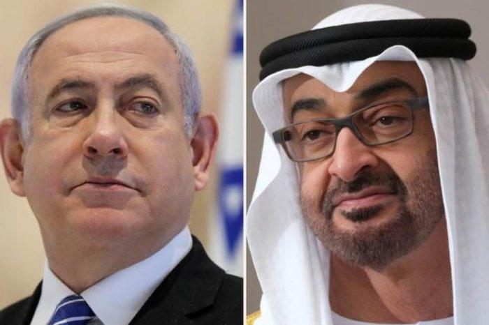 Primer ministro de Israel y Príncipe de Emiratos Árabes
