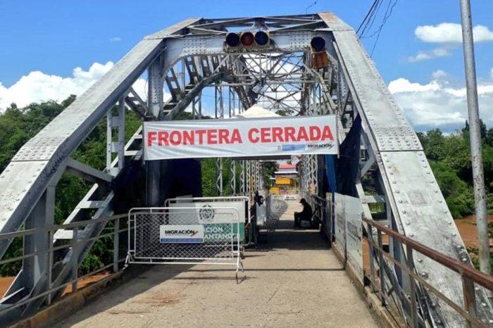 Puente Internacional Simón Bolívar Cerrado