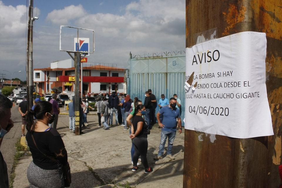 Sin gasolina en Táchira