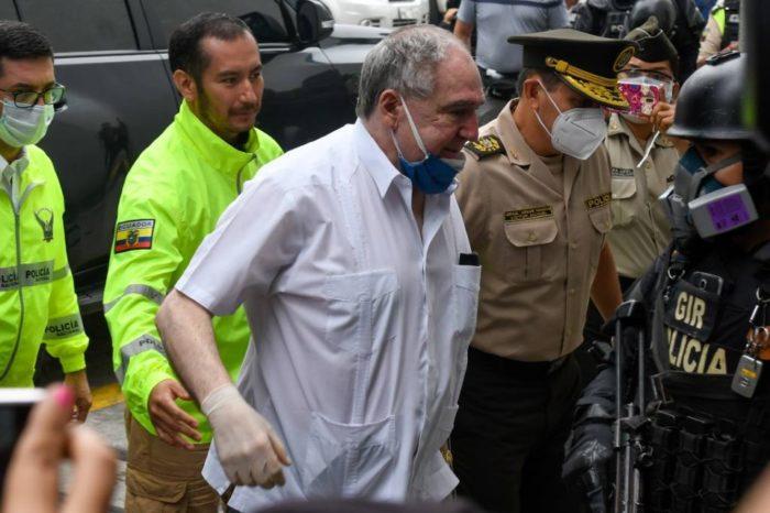 Detienen por presunta delincuencia organizada a expresidente de Ecuador Abdalá Bucaram