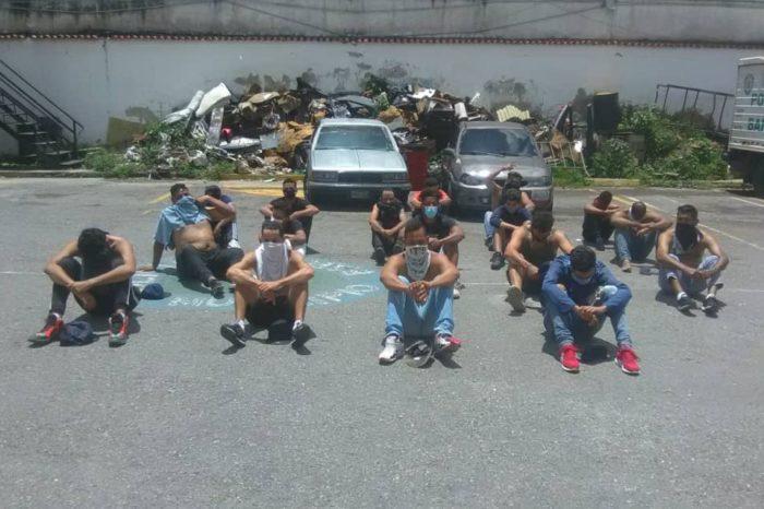 Detuvieron a 18 personas en Baruta por asistir a fiesta en cuarentena