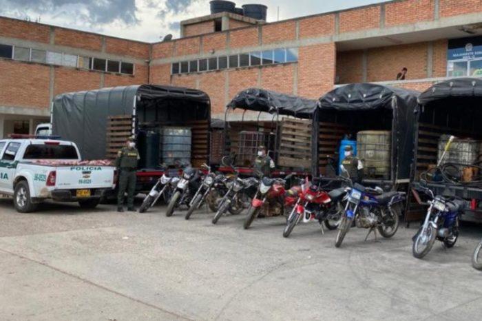 Incautan más de 31 mil litros de gasolina venezolana en Colombia