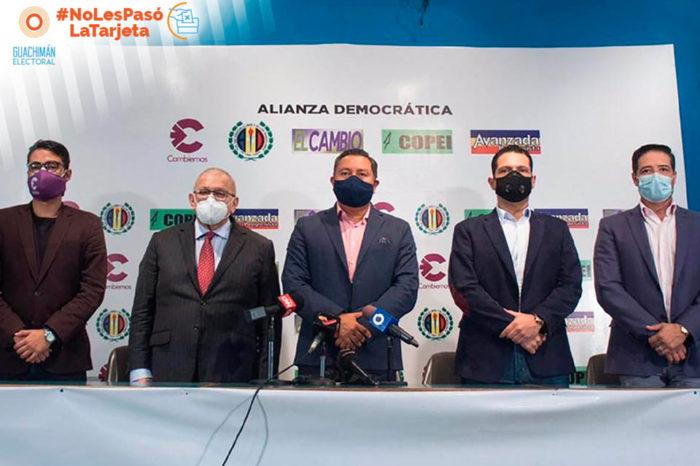 NoLesPasóLaTarjeta | Alianza Democrática: unidad al otro lado de la unidad